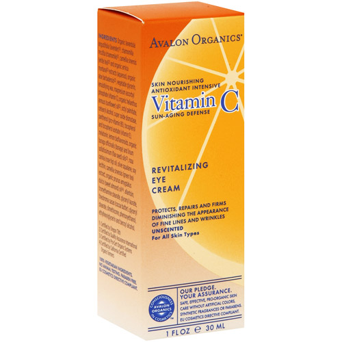 Avalon Vitamin C Revitalizing Eye Cream, 1 oz