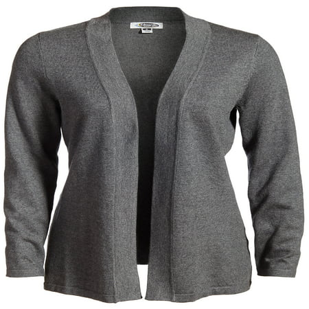 a117e889eb Edwards - Edwards Women s Longer Length Open Front Cardigan