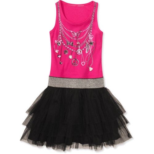 Mad Style by True Jackson - Girls' Tulle Ballet Dress