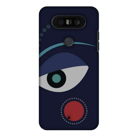 LG Q8 Case, Premium Handcrafted Printed Designer Hard ShockProof Case Back Cover for LG Q8, LG LGH970 - Divine Goddess - Blue (Goddess Blue)