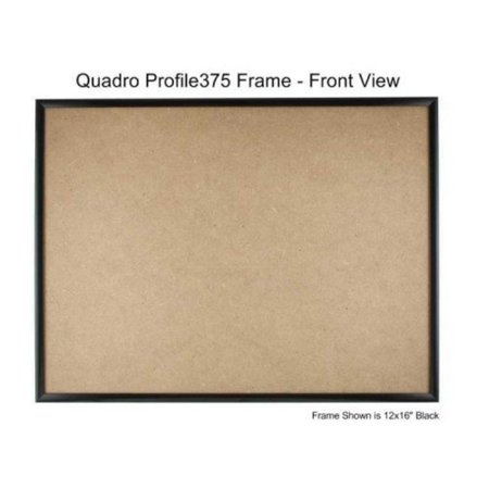 Quadro Frames 13x16 Inch Picture Frame Black Style P375 38 Inch
