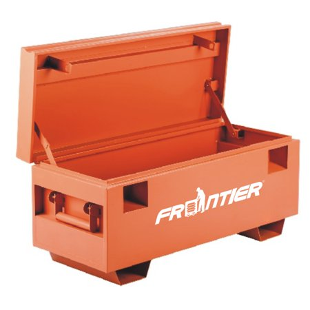 FRONTIER 42 inch W x 17 inch D x 21 inch H, Steel Job Site Tool (Best Job Site Box)