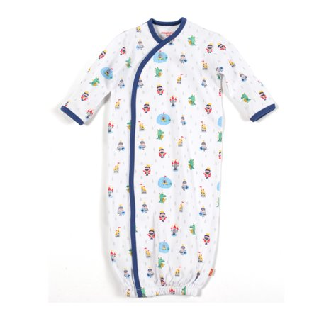 43919ddaf Magnificent Baby - Baby Infant Magnetic Gown, Boy Good Knight - Walmart.com