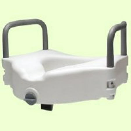 Fabulous Lumex 6487Ra 1 Locking Raised Toilet Seat With Removable Arms Non Retail Pac Pabps2019 Chair Design Images Pabps2019Com