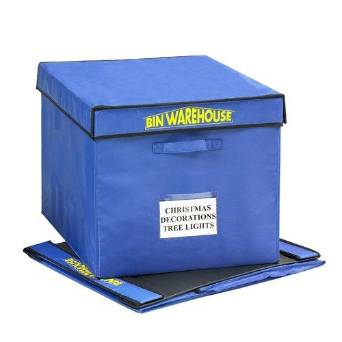 Bin Warehouse 32 Gallon Fold-A-Tote (Set of 4)