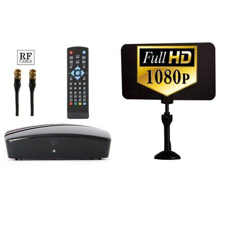 Digital Tv Converter Box Digital Antenna Rf And Rca