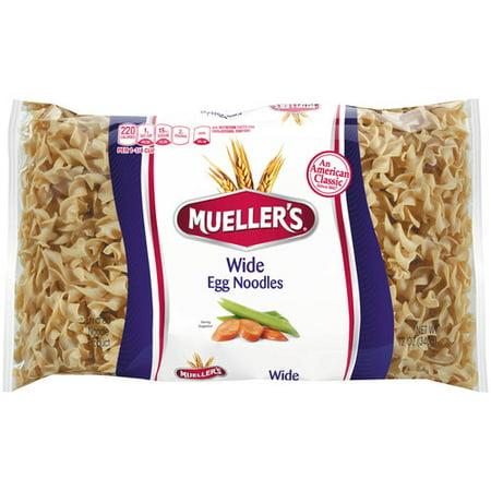 (11 Pack) American Italian Pasta Muellers Egg Noodles, 12 oz (Halloween Pasta Noodles)