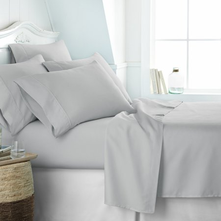 - Home Collection Premium Ultra Soft  6 Piece Bed Sheet Set - 14 Colors