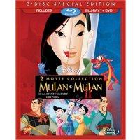 Mulan 2-Movie Collection on Blu-ray (Mulan & Mulan II)
