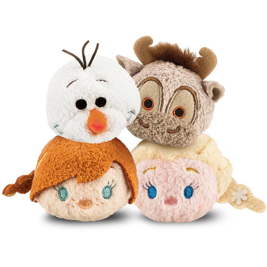 Disney Mini Tsum Tsum Frozen 4-Piece Plush Set
