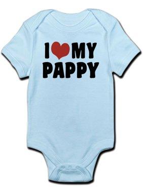 e324591ea3 Product Image CafePress - I Love My Pappy Infant Bodysuit - Baby Light  Bodysuit