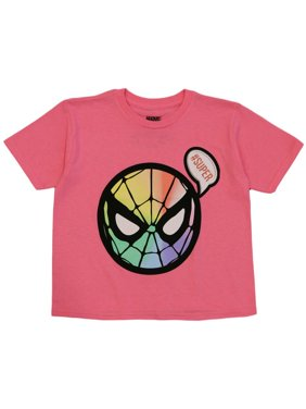 Marvel Toddler Girls' Spiderman Cute Spider Tee