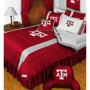 NCAA Texas A-M Aggies Comforter Pillowcase College Bedding Twin