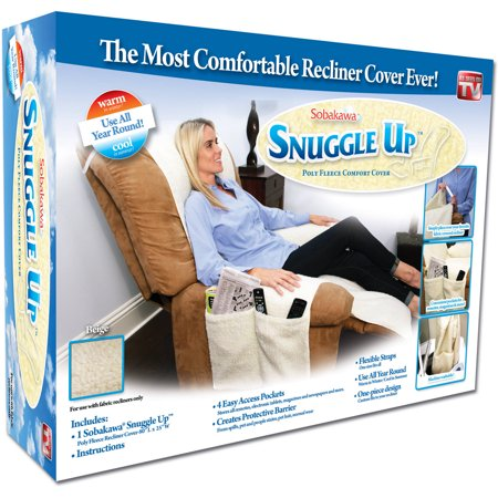 As Seen on TV Snuggle Up Poly Fleece Comfort Cover, Beige