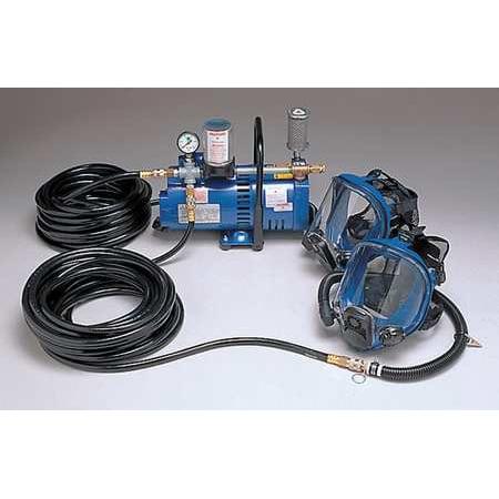 ALLEGRO 9210-02 Supplied Air Pump Package,2 Ppl,3/4 HP