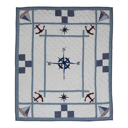 Patch Magic Thstse Star Of The Sea  Throw 50 X 60 Inch
