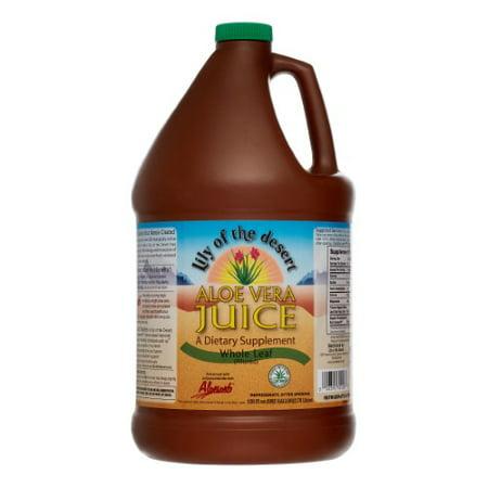 Lily of the Desert Aloe Vera Juice Whole Leaf 128 fl