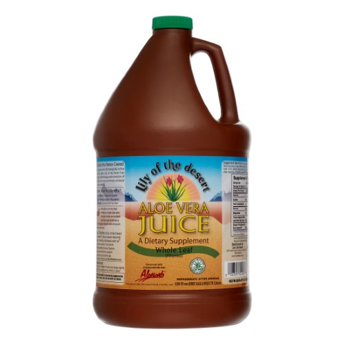 Lily of the Desert Aloe Vera Juice Whole Leaf 128 fl oz