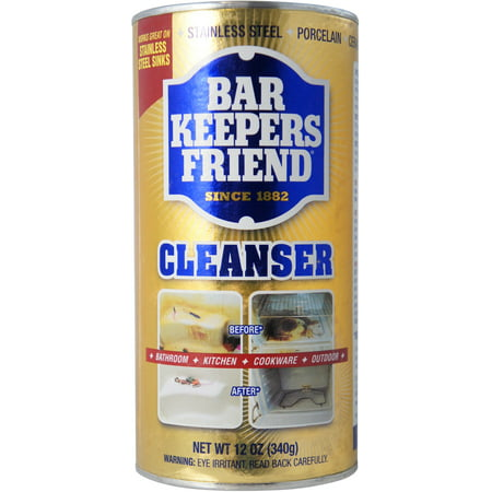 2 Pack - Bar Keepers Friend All-Purpose Cleaner & Polish 12 oz