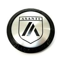 """Asanti Gloss Black 3 1/4"""" Snap-In Wheel Center Hub Cap"""