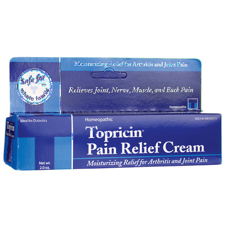 Topricin Pain Relief Cream 2 oz Cream