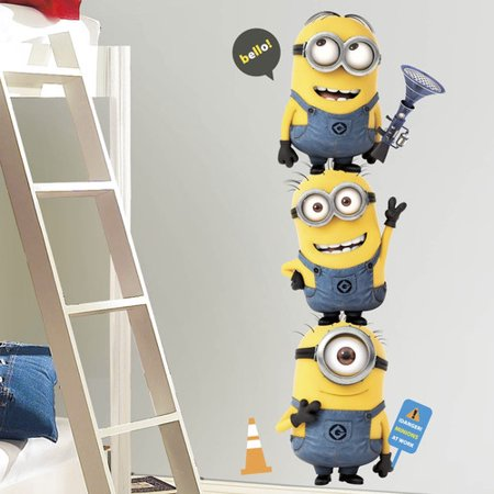 Wallhogs Despicable Me 2 Movie Minions Giant Wall Decal](Giant Minion)