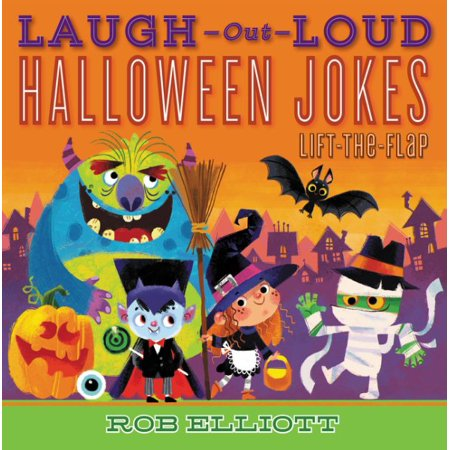 Laugh-Out-Loud Halloween Jokes: Lift-The-Flap - Chiropractic Halloween Jokes