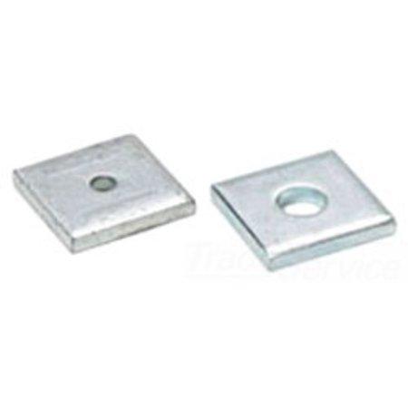 BLINE1 B201-ZN-3/8 3/8 Square Washer
