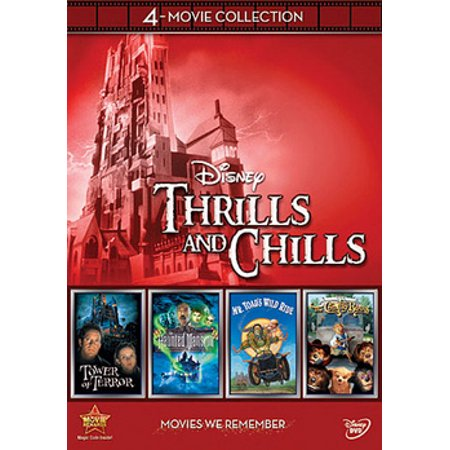 Disney Thrills & Chills (DVD) - History Channel Haunted History Halloween Dvd