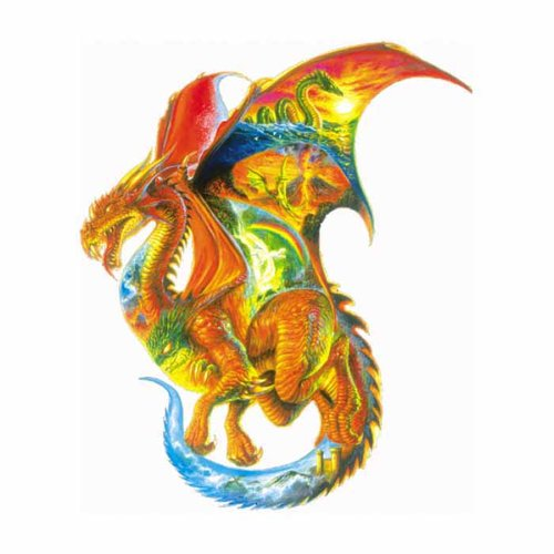 Dragon Dreams Shaped Puzzle