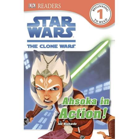 DK Readers L1: Star Wars: The Clone Wars: Ahsoka in Action! ()
