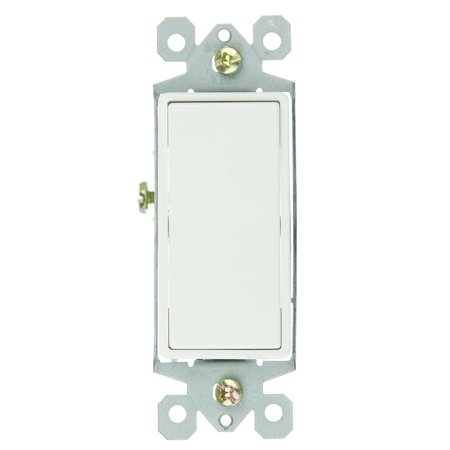 Sunlite E511 3 Way Grounded Rocker Switch, White (3 Way Switch 3 Switches Wiring Diagram)