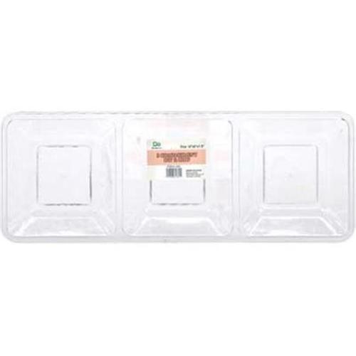 "Ddi Plastic Serving Tray Plastic Serving Tray - 16"""