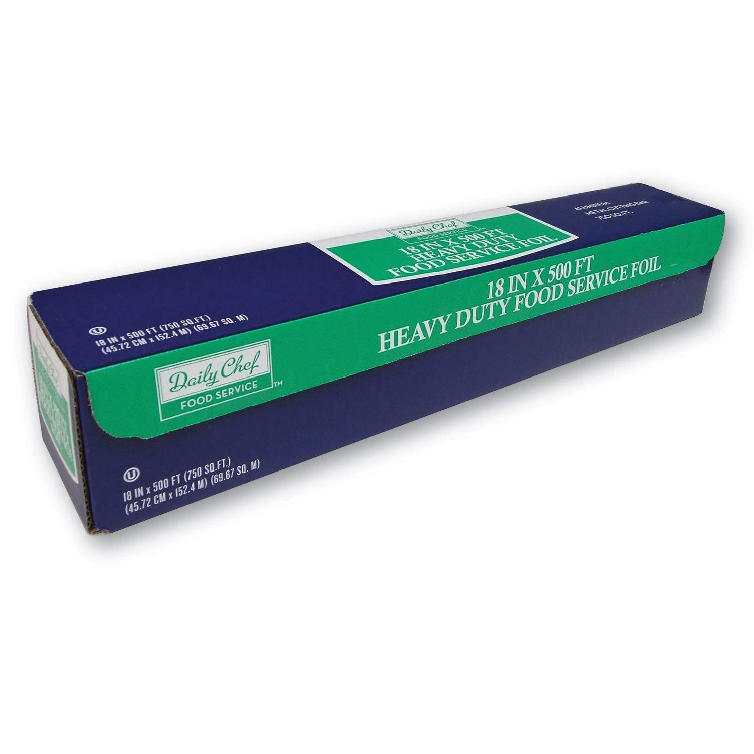 Heavy Duty Foodservice Foil - 500ft, Heavy Duty aluminum foil By Daily Chef