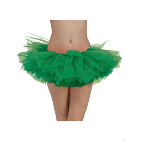 Green Adult Tutu Halloween Costume - Green Jester Costume
