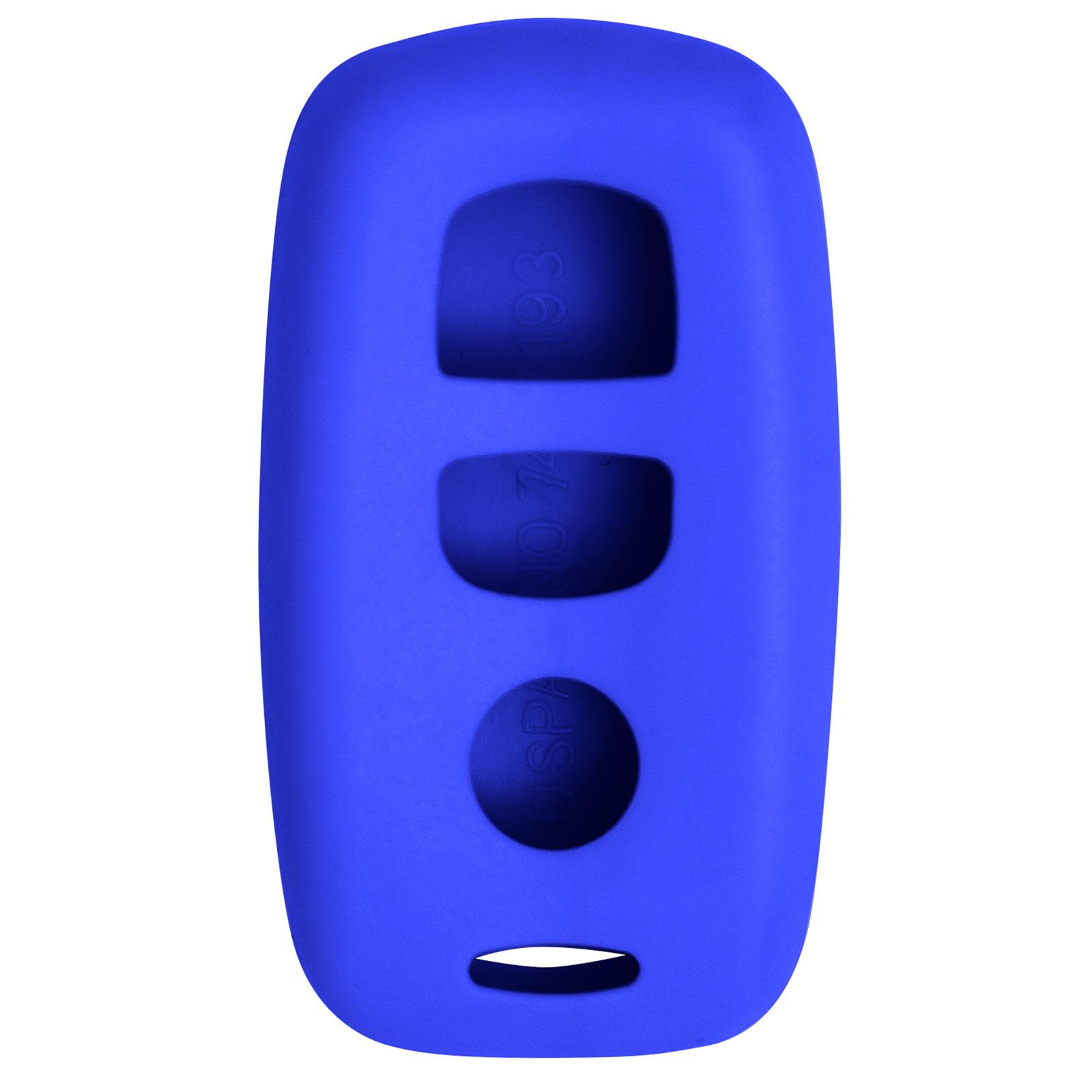 Keyless2Go New Silicone Cover Protective Case for Mazda Remote with FCC KPU41846 KPU41794