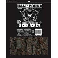 Buffalo Bills 8oz Premium Hickory Beef Jerky Pieces (hickory smoked jerky in random size pieces)