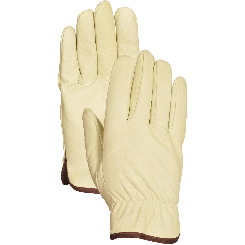 Bellingham Glove C2356M Medium Men's Grain Cowhide Driver Gloves by Lfs Glove