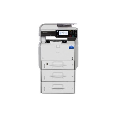 RICOH USA 407920 RICOH SP4510SFTE B&W MFP 42-PPM A4 DESKTOP MFP WITH  500-SHEET LOCKING TRAY AND