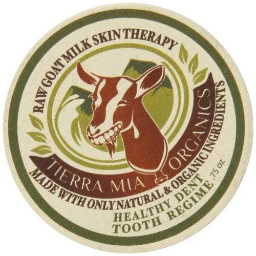 Tierra Mia Organics Goat Milk Healthy Tooth Regime, Spearmint & Peppermint, 0.75 Oz by Tierra Mia Organics