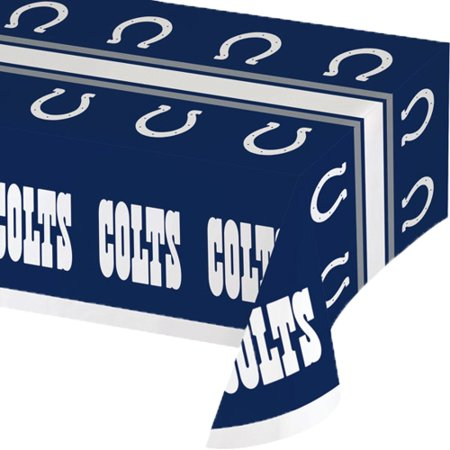 Indianapolis Colts Plastic Table Cover - No Size
