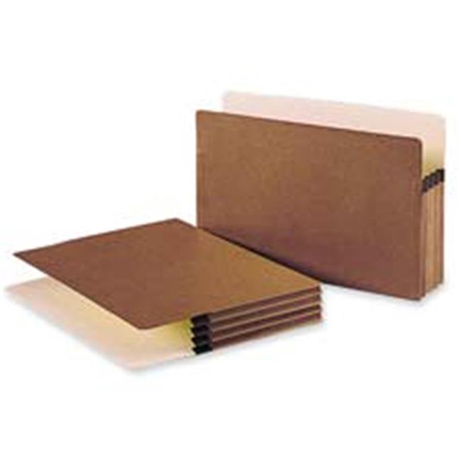 Straight-Cut Tab Smead File Pocket Letter Size 73810 5-1//4 Expansion 50 per Carton Redrope