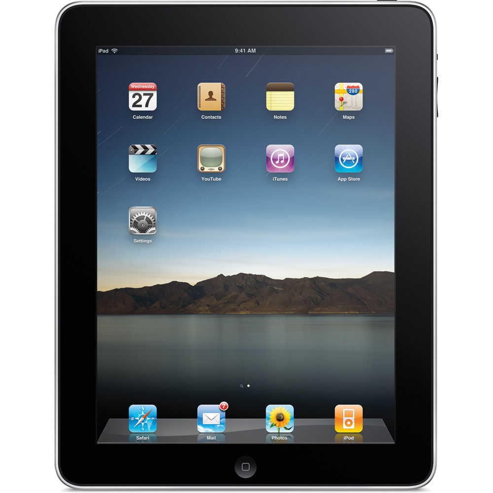 Apple iPad 1st Generation 16GB Pre-Owned , Acceptable, MB...