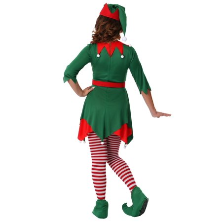 Women's Plus Size Santa's Helper Costume - Hamburger Helper Costume