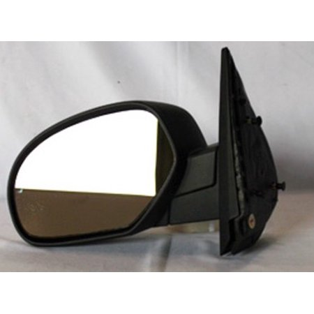 NEW LH DOOR MIRROR FITS CHEVY 07-12 SILVERADO 1500 2500 3500 HD MANUAL CONTROLS CV41L GM1320332 25775944 CV41L GM1320332