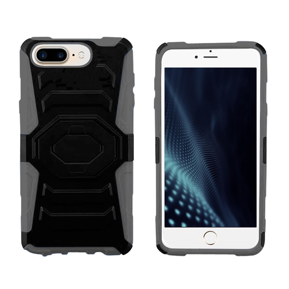 ZV Heavy Duty Case - Armor Cover w/ Kickstand And Holster -  iPhone 7 / 7 Plus