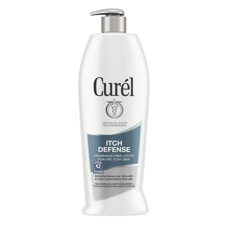 Curel Itch Defense Calming Body Lotion for Dry, Itchy Skin, 20 Ounces