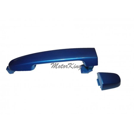 Rear Outside Door Handle W/O Keyhole For 2001-2013 Pontiac Scion Toyota Camry Corolla RAV4 tC xA xB Speedway Blue 8P1