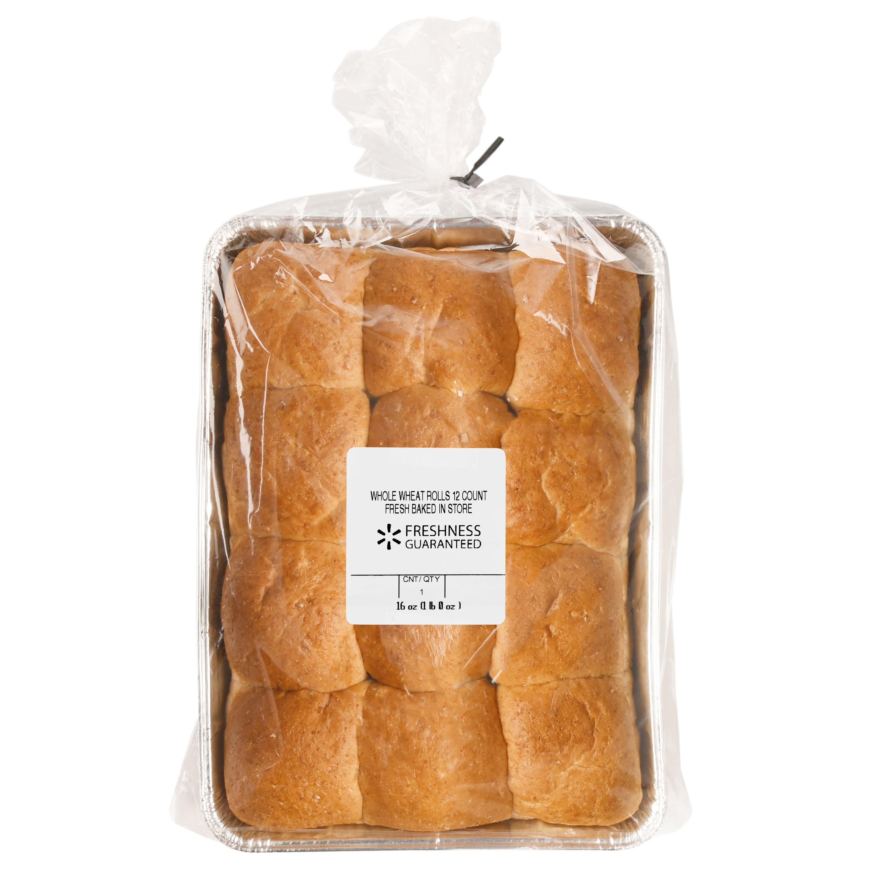 Freshness Guaranteed Whole Wheat Rolls, 16 oz, 12 Count