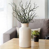 Weefy 3 PCS Artificial Fake Dry Branch Plant Tree Foliage Twigs Wedding Home Decor